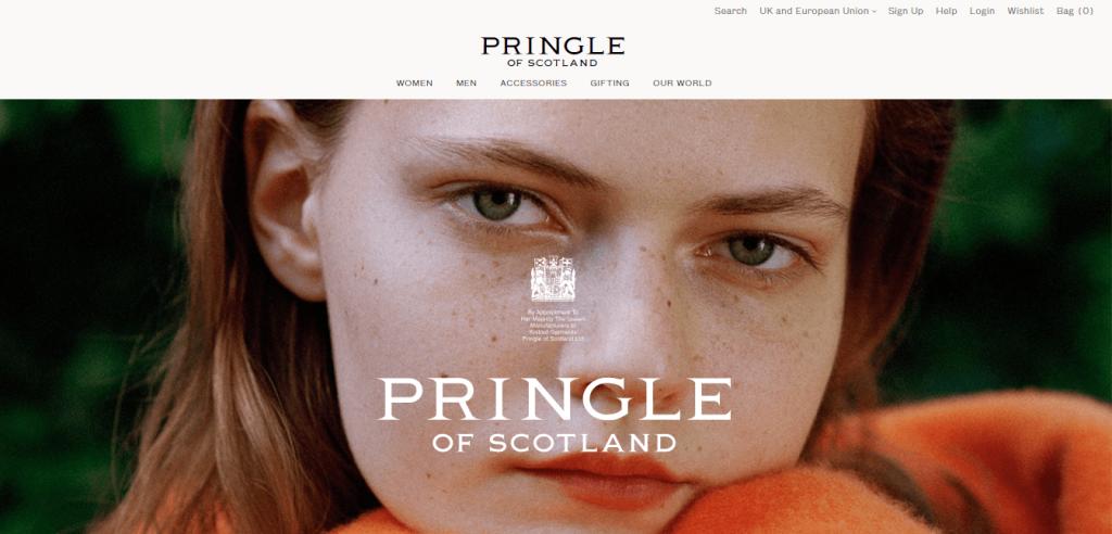 pringle homepage picture for blog scottish cashmere brands
